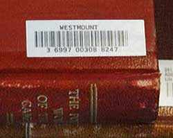bar code on book - WestmountMag.ca