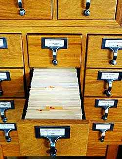 card catalogue - WestmountMag.ca