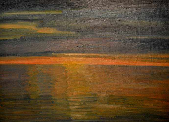 G Scott MacLeod Faxa Bay Midnight Sunset II - WestmountMag.ca