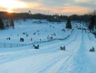 Mount Royal Park: <br>loads of winter fun!