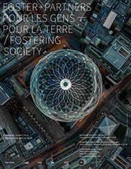 Affiche de l'exposition «Pour les gens - Pour la Terre : Foster + Partners » WestmountMag.ca