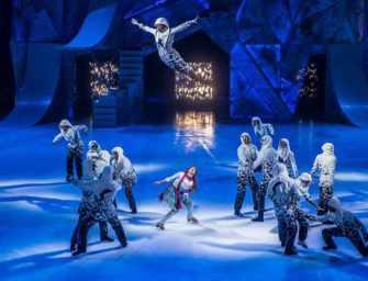 Cirque du Soleil's <br>icy winter wonderland