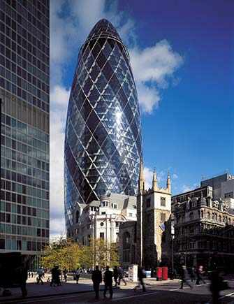 Swiss Re HQ, 30 St Mary Axe ¿WestmountMag.ca