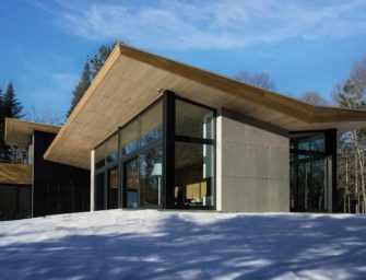 La résidence l'aile de bois <br>dans les Laurentides