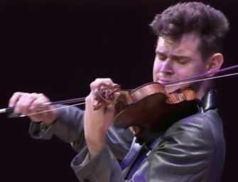 Le Violoniste Blake Pouliot : <br>une étoile montante