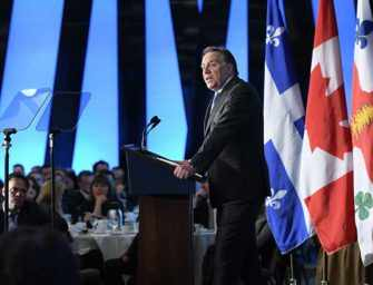 Legault on Quebec's <br>place in the World