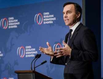 Bill Morneau presents <br>his 2018 federal budget