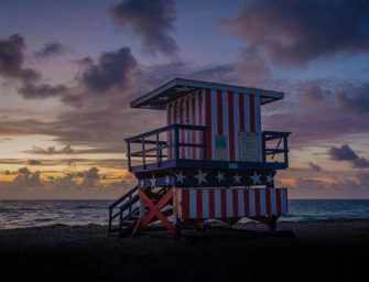 James St Laurent's Miami / 3 <br>Lifeguard towers