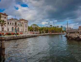 James St Laurent à Miami / 4 <br>Musée et jardins de Vizcaya
