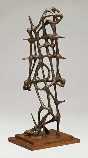UQAM - 150 ans | 150 œuvres : l'art au Canada comme acte d'histoire - Anne Kahane, «Maquette pour le Monument au prisonnier politique inconnu»