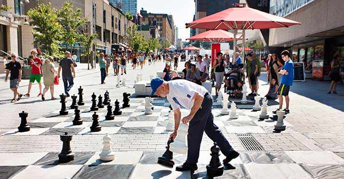 Place des Festivals - Quartier des spectacles - WestmountMag.ca