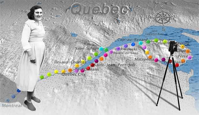 Lida Moser's Quebec Odyssey - WestmountMag.ca