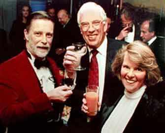 David Nicholson, Carl Beigie, Diana Nicholson - WestmountMag.ca
