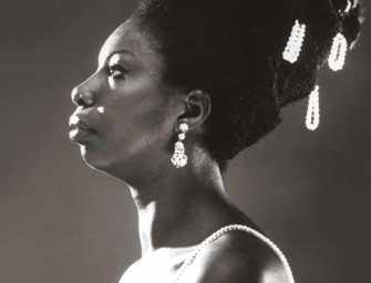 Singer Nina Simone is <br>a hot item this month