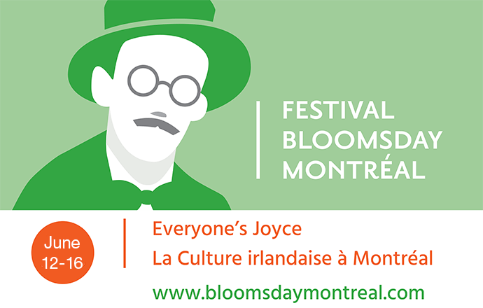 June 12 to 16, Festival Bloomsday Montréal celebrates Irish-Montréal heritage, culture and literature. – WestmountMag.ca