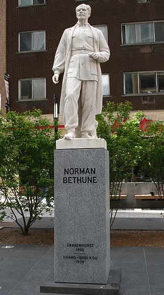 Norman Bethune Square - WestmountMag.ca