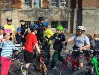 Riding safe: the APCW's <br>cycling education program