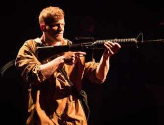 What Rough Beast, <br>a timely new play