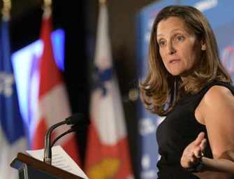 Chrystia Freeland on <br>Canada in a Changing World