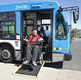 STM wheelchair bus ramp - WestmountMag.ca