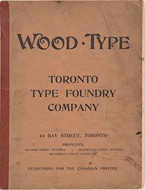 Wood type catalog - WestmountMag.ca
