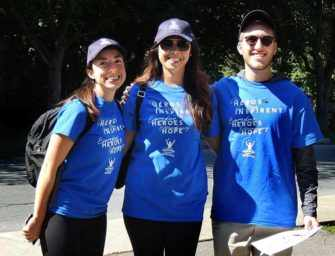 Stroll, walk or run <br>in a fundraiser for Parkinson