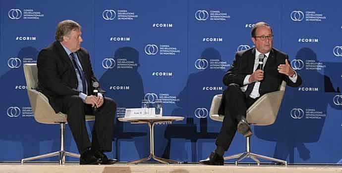 CORIM – Déjeuner-causerie avec François Hollande – WestmountMag.ca