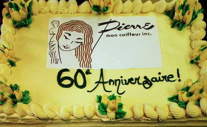 6oth Anniversary of Salon Pierre Mon Coiffure – WestmountMag.ca