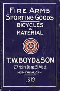 T. W. Boyd & Son advertisement - WestmountMag.ca