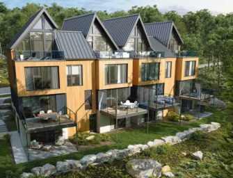 Un milieu de vie <br>écoresponsable à Bromont