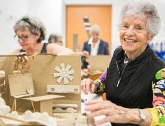 The positive effects <br>of art on seniors