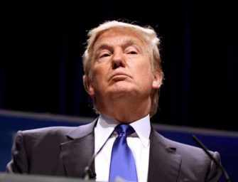 Donald Trump presaged <br>in classical theatre
