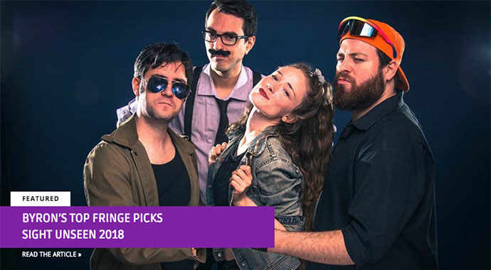 Byron's top Fringe picks 2018 - WestmountMag.ca