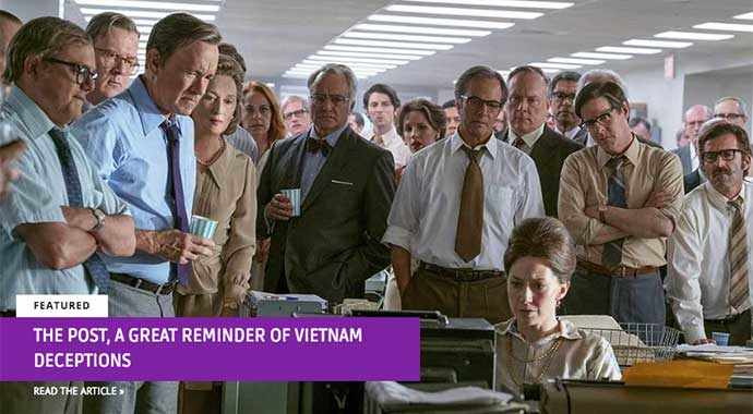 The Post, a great reminder of Vietnam deceptions - WestmountMag.ca