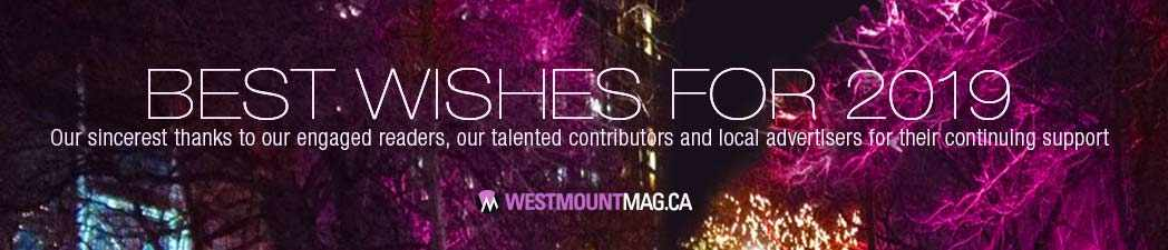Best Wishes for 2019 - WestmountMag.ca