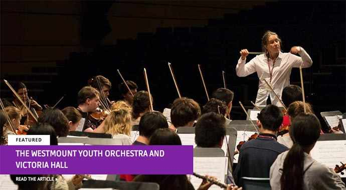 The Westmount Youth Orchestra and Victoria Hall - WestmountMag.ca