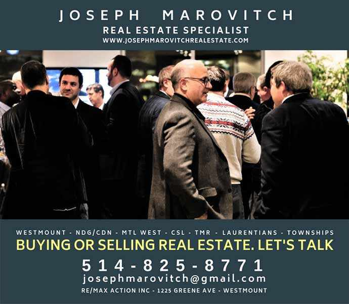 Joseph Marovitch - Let's Talk - Westmountmag.ca