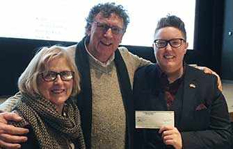 Lynn Doyle, Tim Hine and Laura Finlay - WestmountMag.ca