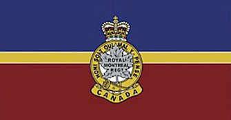 Camp flag Royal Montreal Regiment - WestmountMag.ca
