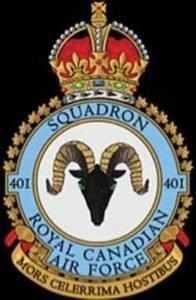 401 squadron badge - WestmountMag.ca