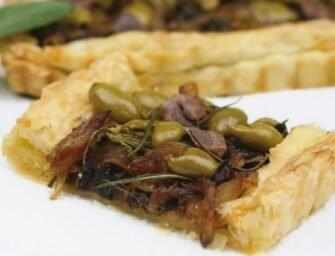 Love and Spices: Onion herb tart