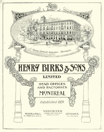 ad for Henry Birks & Sons - WestmountMag.ca