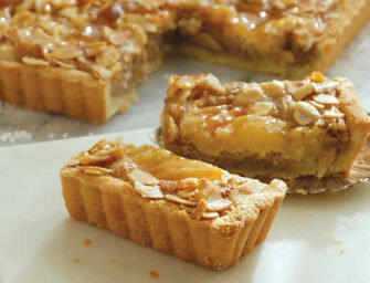 Love and Spices: <br>Almond Pear Tart