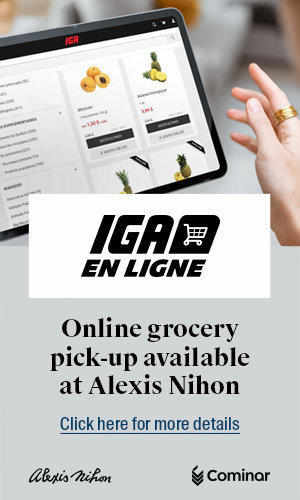 IGA Online Grocery pick-up available at Alexis Nihon