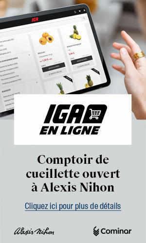 IGA en ligne- comptoir de cueillette ouvert à Alexis Nihon