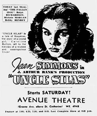 Avenue Theatre poster - WestmountMag.ca