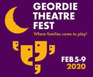 Geordie Theatre Fest - sidebox 300x250