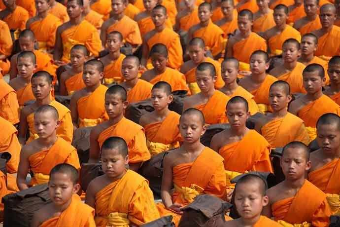 Buddhist monks - WestmountMag.ca