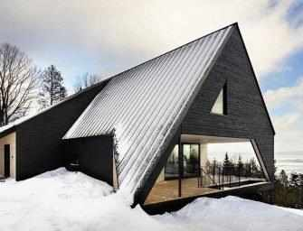 Cabin A, for lovers of <br>architecture and nature