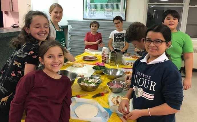 Centre Greene kid's kitchen - WestmountMag.ca